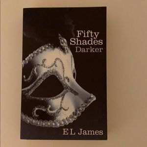 Fifty Shades Darker by EL James Paperback Book